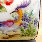 Sevres bird and butterfly